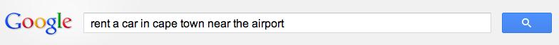 Long-tail keyword search
