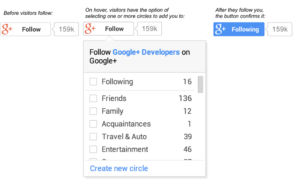 Google+ Follow Button