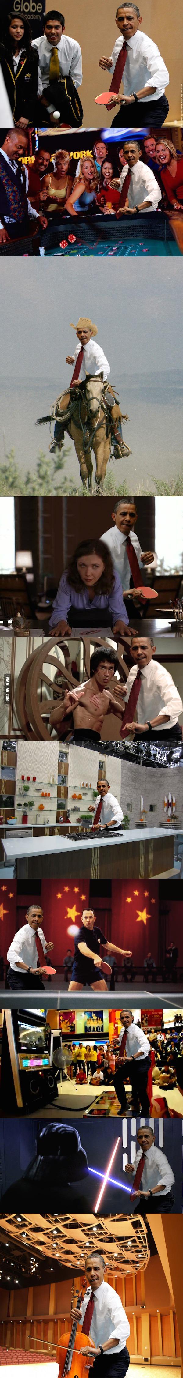 Obama-playing-table-tennis-photoshopped