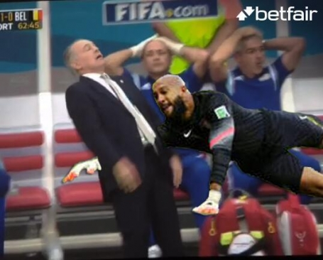 Tim Howard Saves Sebella