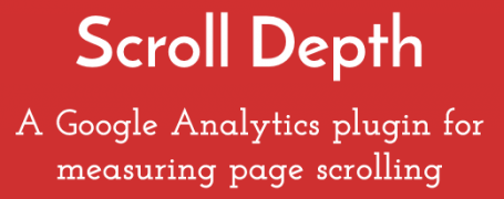 Scroll Depth Google Analytics Plugin