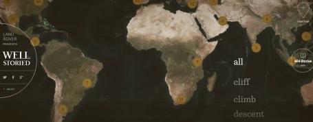 The Vanishing Game #Wellstoried Map