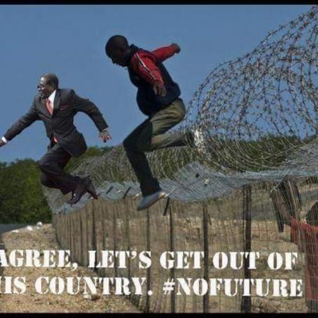 Mugabefalls meme