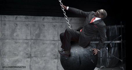 #MugabeFalls wrecking ball