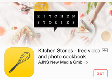 Kitchen Stories Application