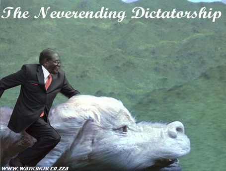 the never ending dictatorship #mugabefalls