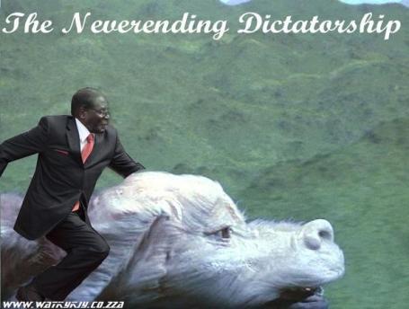 the never ending dictatorship #mugabefalls