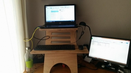 Workspace Competition - Standing Desk