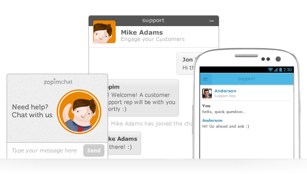 Increase sales with live chat on your website - iMod Digital