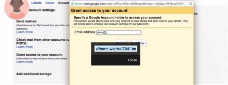 Gmail Delegate