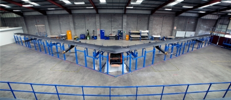 facebook internet launching drone