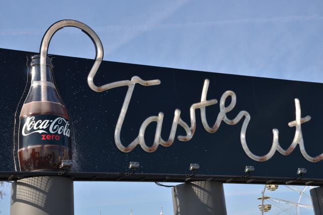 Coke Zero Taste It Drinkable Billboard
