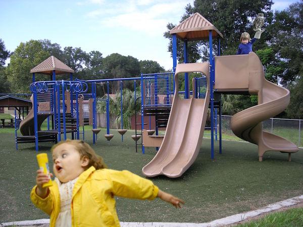 photoshop evil litttle girl holding owl and running girl