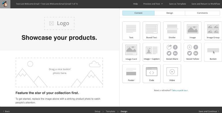 MailChimp: Email Editor